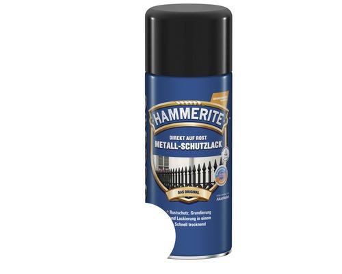 Spray de protection pour métaux HAMMERITE blanc brillant 400 ml