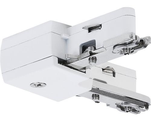 Connecteur en L URail Paulmann blanc 230V