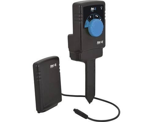 Capteur d''humidité for_q, sans fil pour arrosage automatique avec arroseurs mobiles, systèmes de goutte à goutte (MicroDrip) ou systèmes de pulvérisation