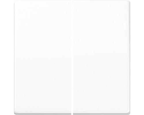 Bascule d''interrupteur série Jung AS 591-5 WW blanc