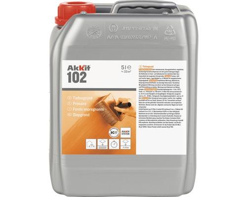Akkit 102 Tiefengrund für saugende Untergründe 5 L