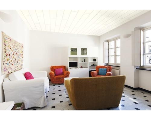 Panneau de décoration Trendy Duo blanc à peindre 10x200x1200 mm