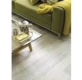 PVC Togo Holzdekor weiss 200 cm breit (Meterware)