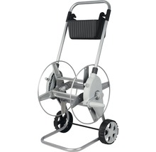 Chariot dévidoir en métal for_q, 60 m 1/2