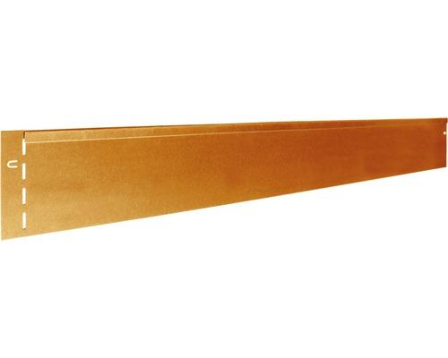 Bordure de pelouse Corten 118 x 13 cm