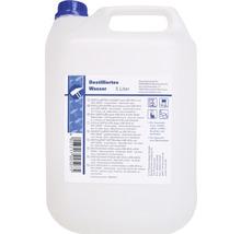 Palette d''eau distillée avec 144 bidons de 5 litres (720 litres) déminéralisée-thumb-1
