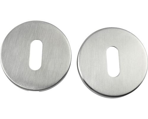 Kit de rosettes pour serrures BB en acier inoxydable