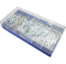 Assortiment de vis filetées galvanisées 285 pièces-thumb-1