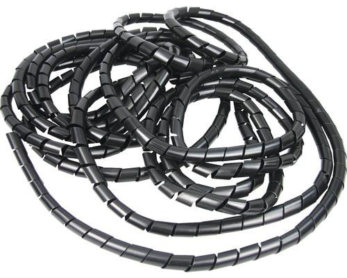 Conduit de câble Ø 15 x L 10 m noir