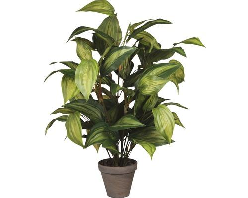 Plante artificielle Hosta, vert