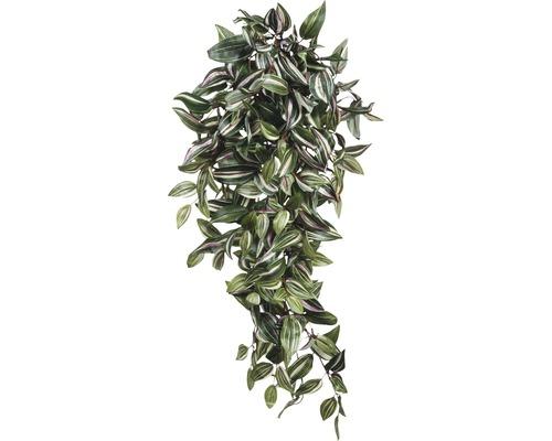 Plante artificielle Tradescantie hauteur 15 cm, vert
