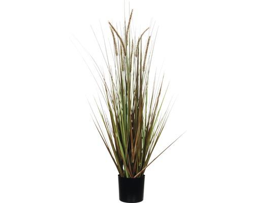 Herbe artificielle stipa 92 cm, brun