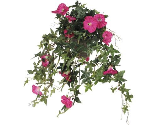 Fleur artificielle Pétunia suspendue, rose