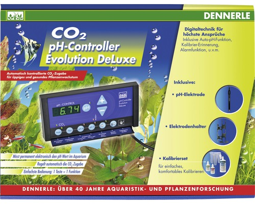 CO2 pH-Controller DENNERLE Evolution DeLuxe