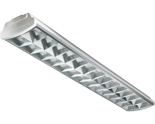 Luminaire à grille IP20 pour 2x36 W l1250 mm Sylmaster ARS sans ampoule