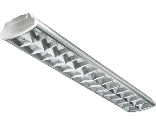 Luminaire à grille 2x58 W T8 l:155 cm