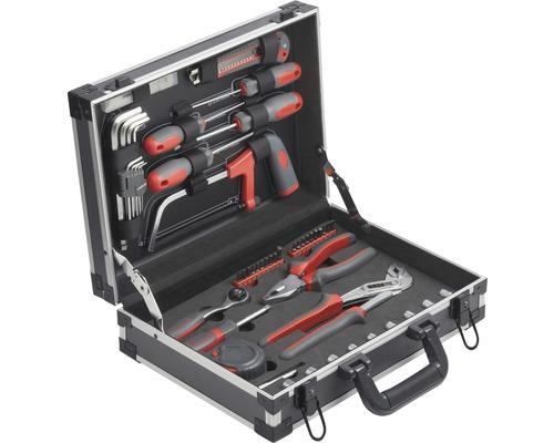 Boîte à outils en aluminium 53 pièces