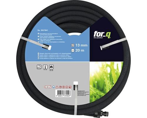 Tuyau poreux for_q 13 mm avec réducteur de pression, 20m