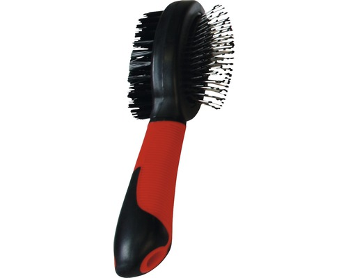 Karlie Double brosse pour chiens grande taille