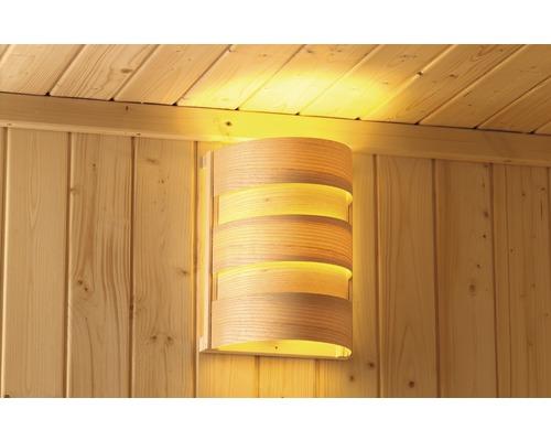 Éclairage sauna Classic Karibu