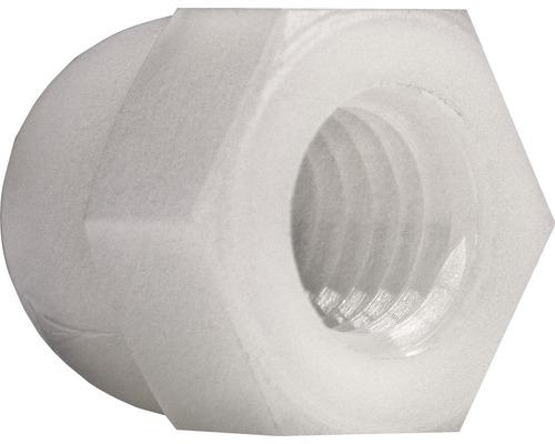 Écrou borgne DIN 1587 M3 polyamide, 200 pièces