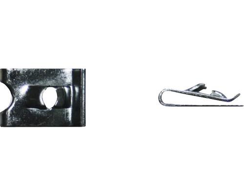 Ecrou à tôle Ø 3.5 mm galvanisé 100 unités