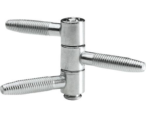 Fiche à visser 3 parties Ø 13 mm, 10 pièces