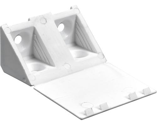 Raccord d''angle universel, blanc 20x20x43 mm, 20 unités