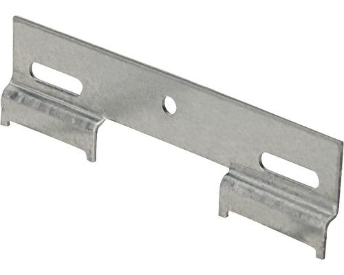 Rail de suspension pour armoire, galvanisé, 130 mm, 25 pièces