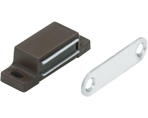 Cliquet magnétique marron 4-5 kg contre-plaque rigide 50 pces