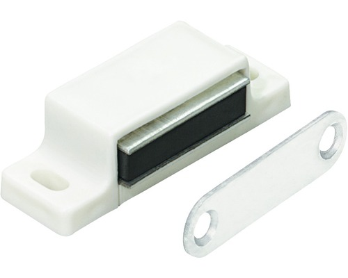 Cliquet magnétique blanc 4-5 kg contre-plaque rigide 50 pces