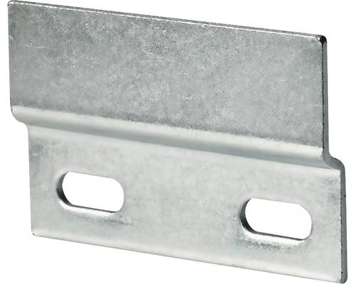 Rail de suspension pour armoire, galvanisé, 46x76 mm, 50 pièces