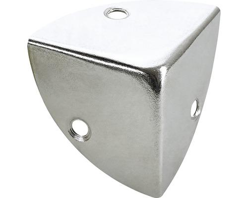 Kistenecke, vernickelt 28x28x28 mm, 25 Stück