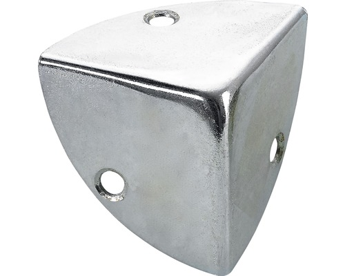 Coin de caisse, galvanisé 28x28x28 mm, 25 pièces