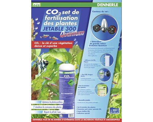 Dennerle CO2 Kit d''engrais jetable Carbo POWER E400