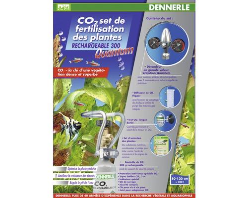 Dennerle CO2 Kit d''engrais réutilisable Carbo POWER M400