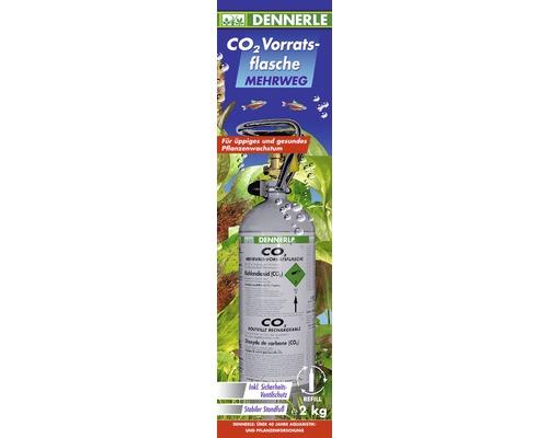 Bouteille de CO2 réutilisable Dennerle 2000 g