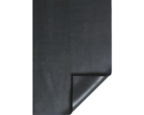 Bâche pour bassin PROFI en caoutchouc 1.0mm noire largeur 600cm (marchandise au mètre)