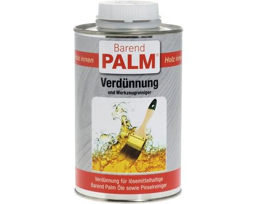 Diluant et produit nettoyant pour outils Barend Palm 500 ml
