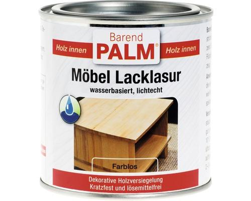 Vernis pour laque à meubles Barend Palm incolore 375ml