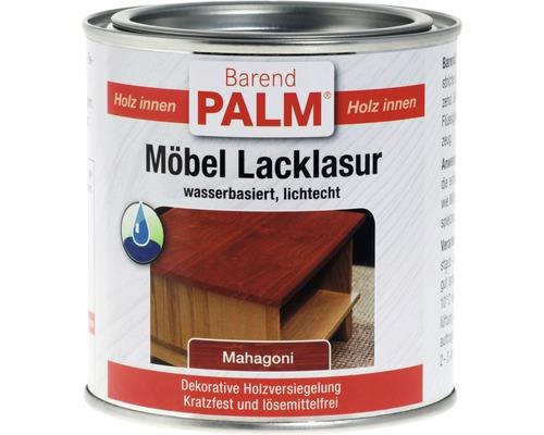 Lasure laque pour meubles Barend Palm acajou 375ml