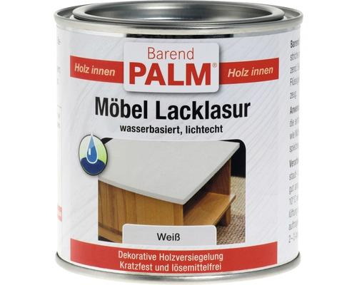 Vernis pour laque à meubles Barend Palm blanc 375ml