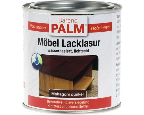 Vernis pour laque à meubles Barend Palm acajou foncé 375ml
