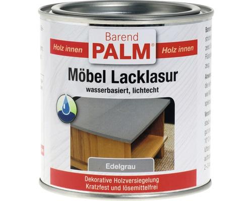 Vernis pour laque à meubles Barend Palm gris élégant 375ml