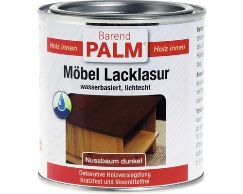 Vernis pour laque à meubles Barend Palm noyer foncé 375ml