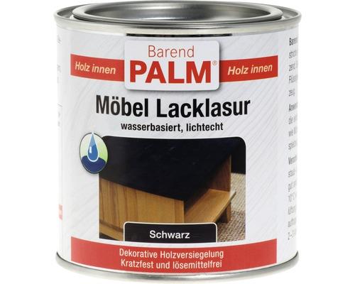 Vernis pour laque à meubles Barend Palm noir 375ml