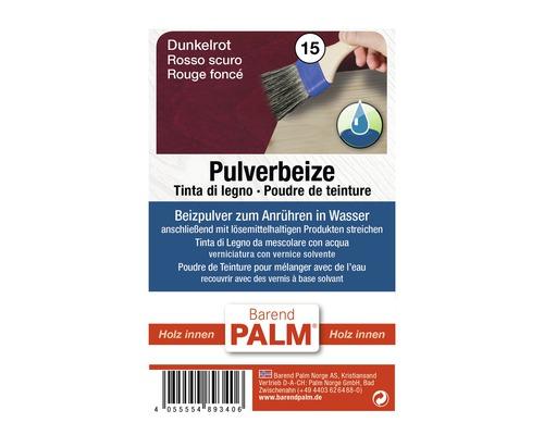 Teinture sèche Barend Palm rouge foncé 12,5g