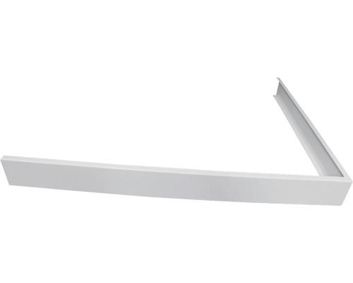 tablier pour receveur de douche noa flat line design 900x1000 mm blanc hornbach luxembourg. Black Bedroom Furniture Sets. Home Design Ideas