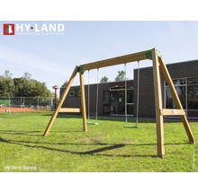 Doppelschaukel Hyland Swing Holz natur