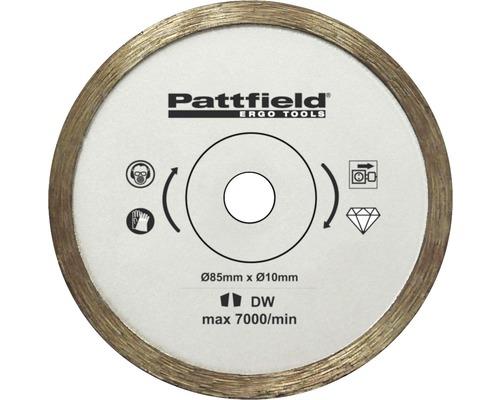 Mini lame de scie circulaire Pattfield Ø 85 mm carrelages